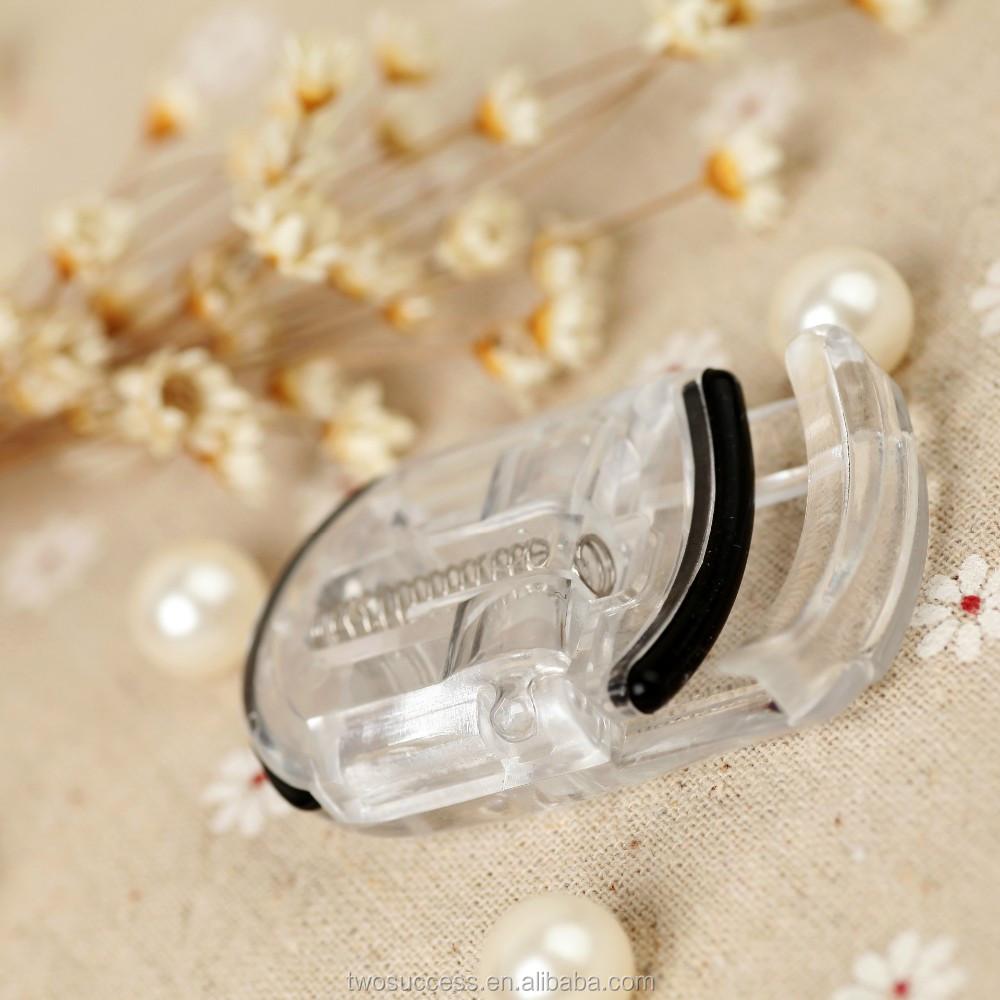 2016 Newest wholesale Beauty Makeup Hot Sale Mini plastic ABS Eyelash Curler