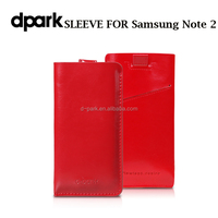 Wholesale Soft Genuine Leather Case Cover for Samsung Galaxy Note 2 Custom Manufacture Factory