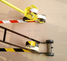 Yellow road marking machine park paint field line marker trolley