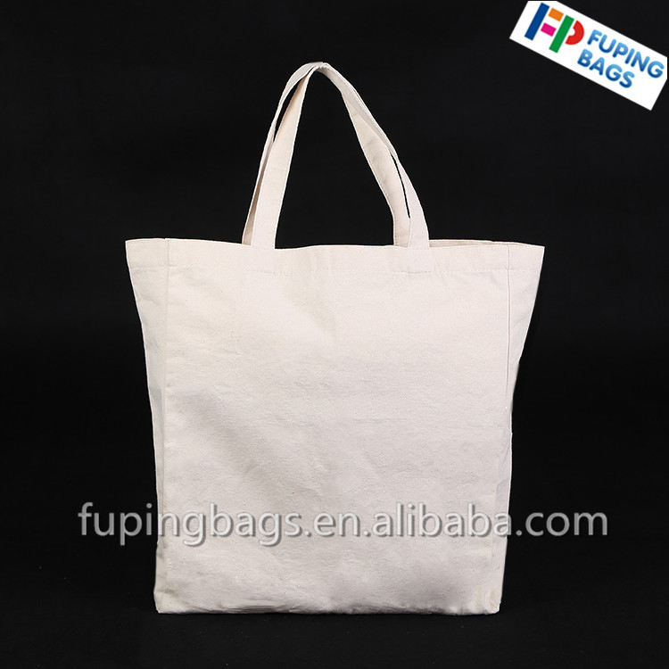 Direct factory promoting reusable cloth shopping cotton bag beach bag cotton canvas bag