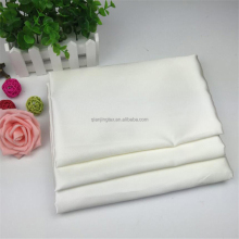 Good reputation high quality cheap shiny white satin fabric