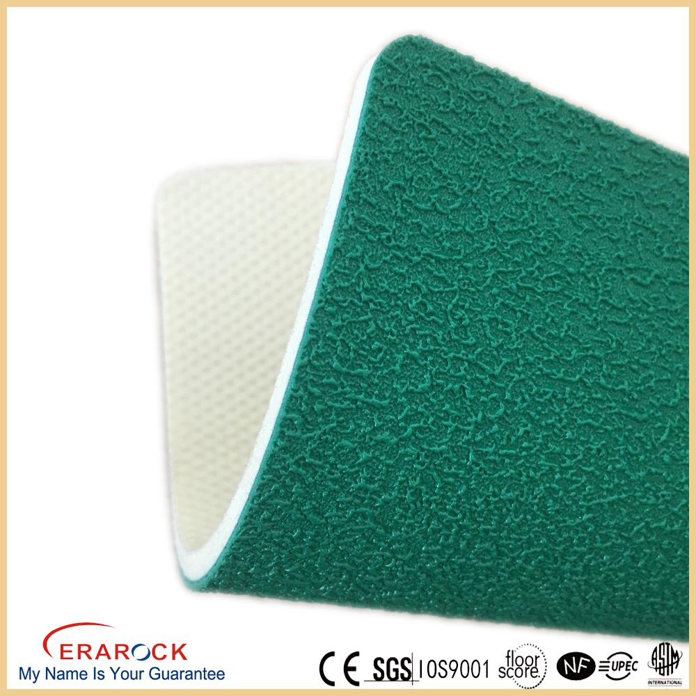 kingdergarten pvc plastic floor made in china moisture-proof sports flooring for basketball court rolls