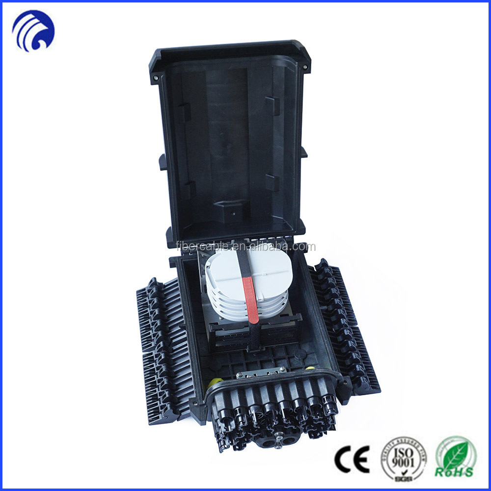 16 core 24core FTTH Drop Cable Splice & Splitter Closure, Optical Fibre Distribution Point for 16/24 PORT