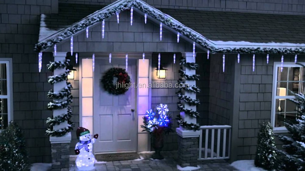 New snowfall blizzard led string light unique christmas cluster 2g aloadofball Gallery