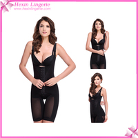 Free Shipping Black Open Bust Mid Thigh Perfect Body Shaper