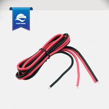PVC insulated red and black speaker wire UL2468 flat wire