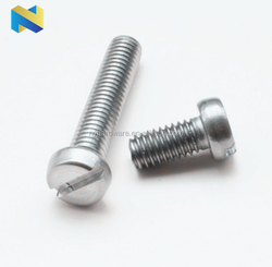 DIN84 SLOTTED CHEESE HEAD MACHINE SCREW