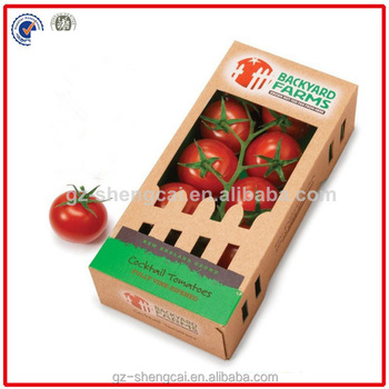 Factory price cardboard fruit boxes/cardboard products for fruit packaging box