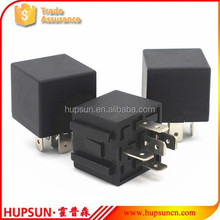 Hight quality auto relay manufacturer bosch 12v 24v 40a 5pin relay