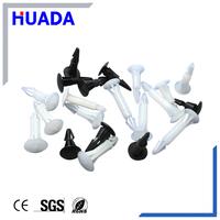 Huada 94v-2 fire rating nylon plastic wheel rivets