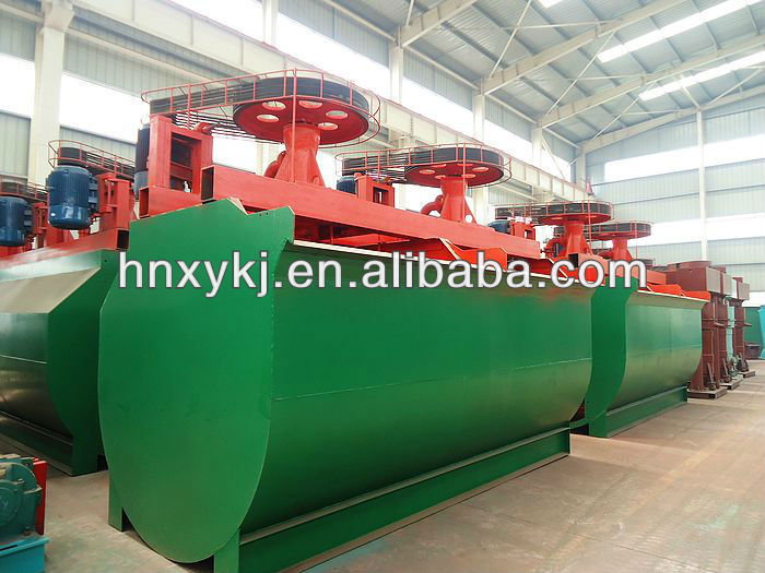 Copper ore flotator / flotation machine for beneficiation plant