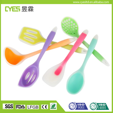 High Quality Silicone Kitchen Tools Cooking Utensil No Stick Rubber Tools