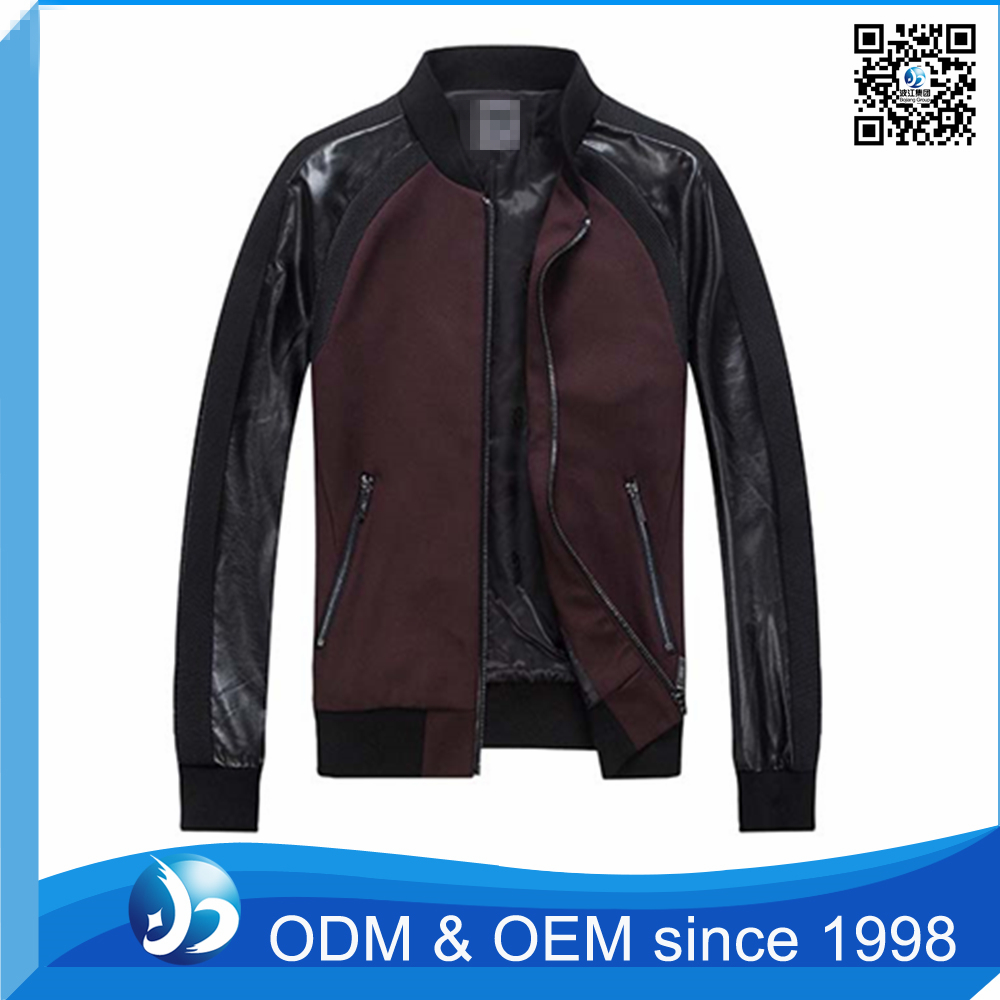 Custom New look Motorbike Leather Jacket in Sialkot