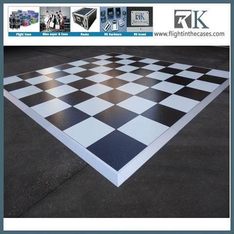 white and black mobile dance floor cascada evacuate the dance floor for sale
