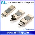 Zyiming Use for iphone Push-mode usb flash drive otg mobile phone usb flash drive 128gb