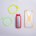 new design silicone protective ring silicone elastic universal phone case