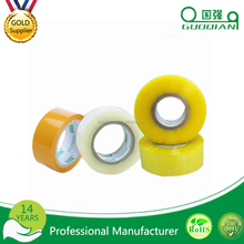 OEM free sample Clear/Transparent Custom Logo Printed Adhesive BOPP/OPP Packing Tape packaging BOPP adhesive tape