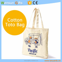 Cheap ECO cotton canvas Shopping Bag for promotion