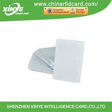 PVC blank rfid chip credit IC/ID Magnetic smart card
