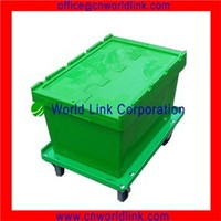 Heavy Duty 50kgs Moving Storage Tobacco Plastic Containers