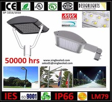 Ul CE Emc listed 60W IP66 Best Power Saving Outdoor Using LED Pole Light for Street/Garden/Parking Lot Offer 5 Years Warranty