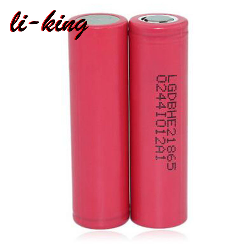 Authentic LG Chem HE2 18650 3.7V 2500mAh Li-ion Rechargeable Battery For E Cigs