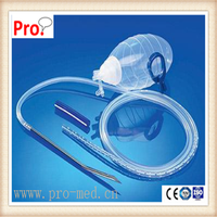 400ml silicone wound drainage reservoir with flat drain tube