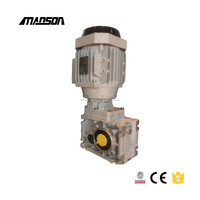 NMRV series aluminum alloy worm gear reducer for Stone equipment