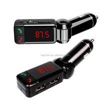 Factory Car Kit Bluetooth BC06 Car Mp3 Player FM Transmitter with Dual USB Ports Car Kit
