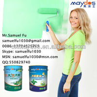 Eco-Friendly Coatings! Healthy Life! Maydos Eco-Friendly Elastic Exterior Acrylic Emulsion Building Coatings