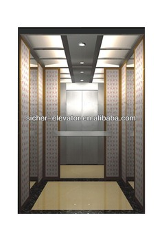 CE approved and VVVF hotel office-building lifts elevators