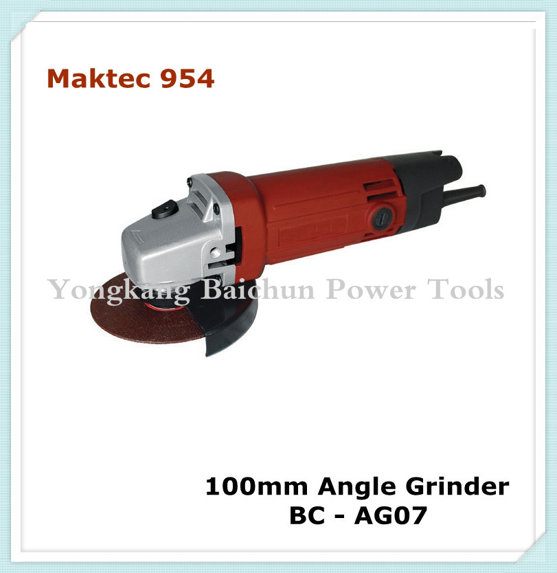 maktec 954 model 100mm mini angle grinder china