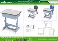 Kaiqi KQ60206B shool furniture student single desk different colors and sizes available