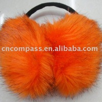 fake fur pink ear muff