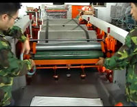 High Speed 3 Color Plastic Flexography/Letterpress Printing Machine(SD-860-2-6) bag to bag printing machine roll to roll