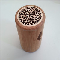 2016 New Design WB-52 Cone Shape Mini Bluetooth Rose Wood Speaker