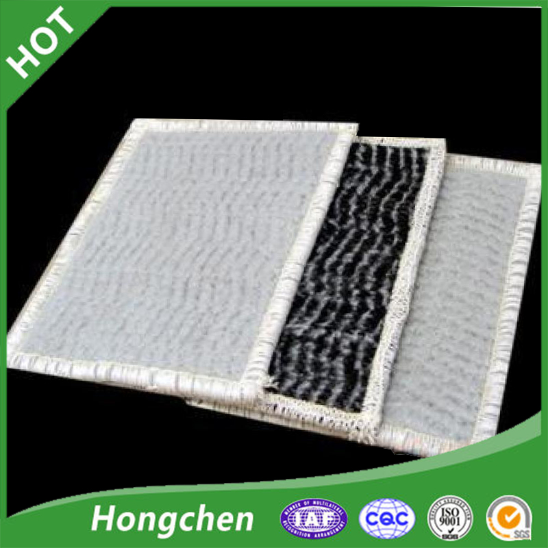 bentonite waterproof pad Geosynthetic Clay Liner gcl for landfill