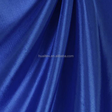 Chinese Supplier 100% polyester taffeta fabric colors lining