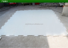 UHMW PE/HDPE synthetic skating fake ice rink/hockey training shooting sheet/panel/fence/barrier