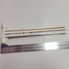 shenzhen houseware wall-mounted 3 arms plastic towel bar