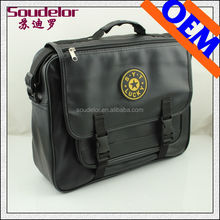 European style brand PU leather laptop bag