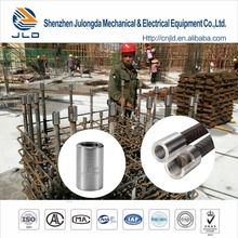 High Precision Parallel Threaded Steel Rebar Mechanical Coupler