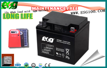 12V 40Ah Rechargeable Lead Acid Battery smf exide lead acid battery 12v 40ah with lowest price