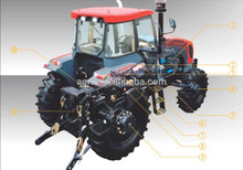 hot sale top quality good price farm tractor 1604,160Hp 4WD with air conditioner , CE cetification