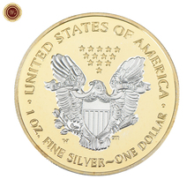 2018 Hot Sale The United States of America bitcoin Silver One Dollar Antiqu Coin For Business Gifts