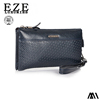 Businessman wallets mens cheap leather wallet with chain