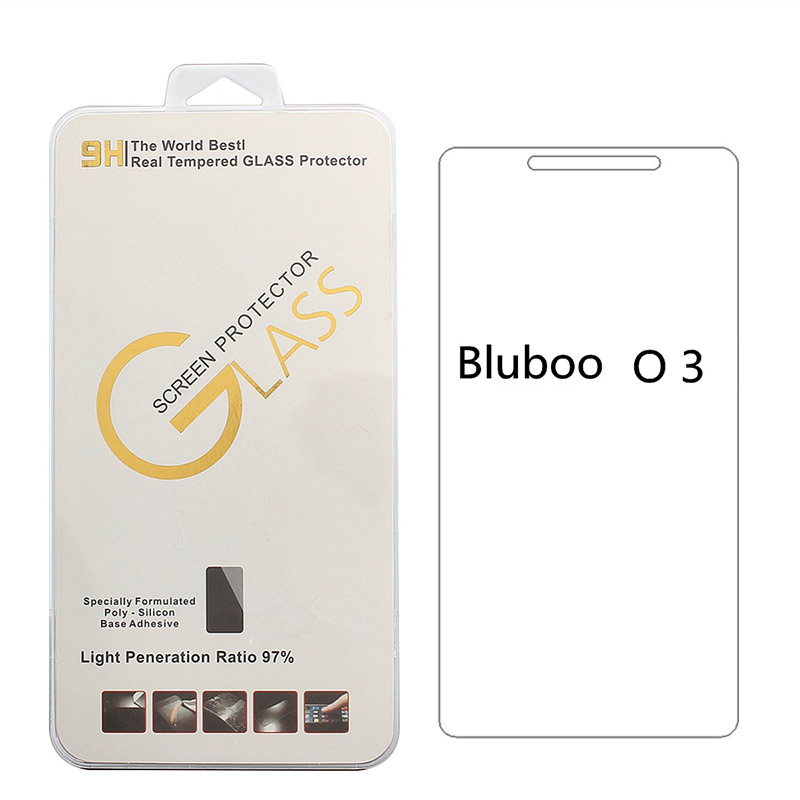 9H Explosion Proof 2.5D Screen Tempered Glass Film For Bluboo <strong>O3</strong> Screen Protector Protective Glass Bluboo <strong>O3</strong>
