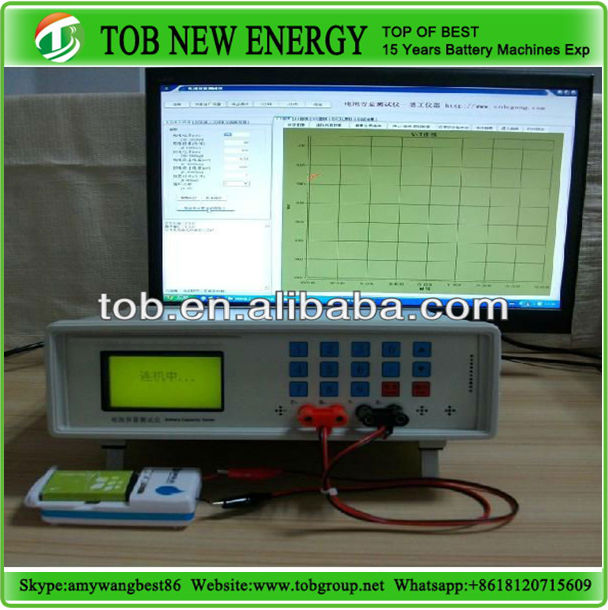 Mobile phone battery capacity tester for charging and discharging equipment