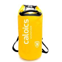 Custom logo PVC Tarpaulin Dry Bag with Shoulder Strap backpack Camping handle waterproof Ocean pack Dry bag