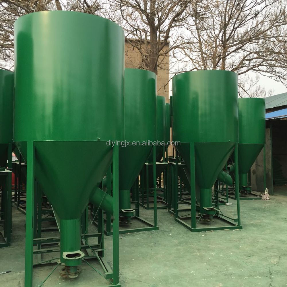 Professional time-saving animal feed crusher and mixer machine granulator crusher feeding machine for sale